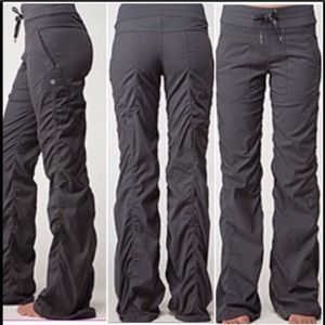 Lululemon athletica dance studio pants Grey EUC 2